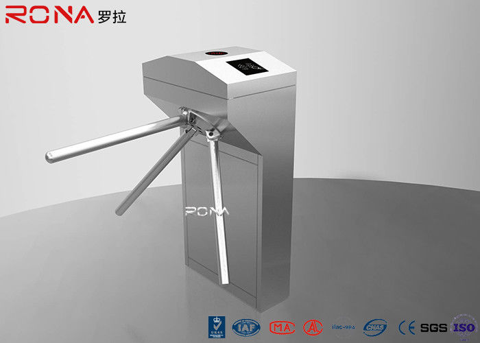 Half Height Pedestrian Turnstile Gate Both Directional RFID Card Reader