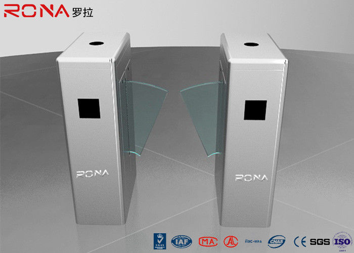 Automatic Flap Barrier Gate Security Access Control Turnstile Machine DC24V